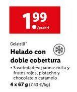 Oferta de Helados Gelatelli por 1,99€