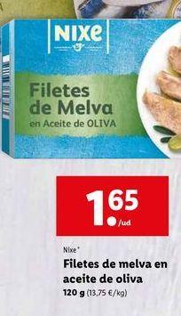 Oferta de Melva en aceite nixe por 1,65€