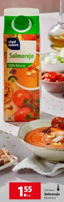 Oferta de Salmorejo chef select por 1,55€