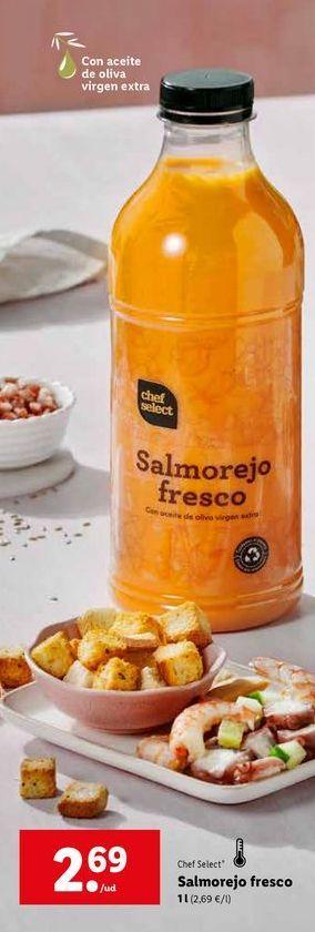 Oferta de Salmorejo chef select por 2,69€
