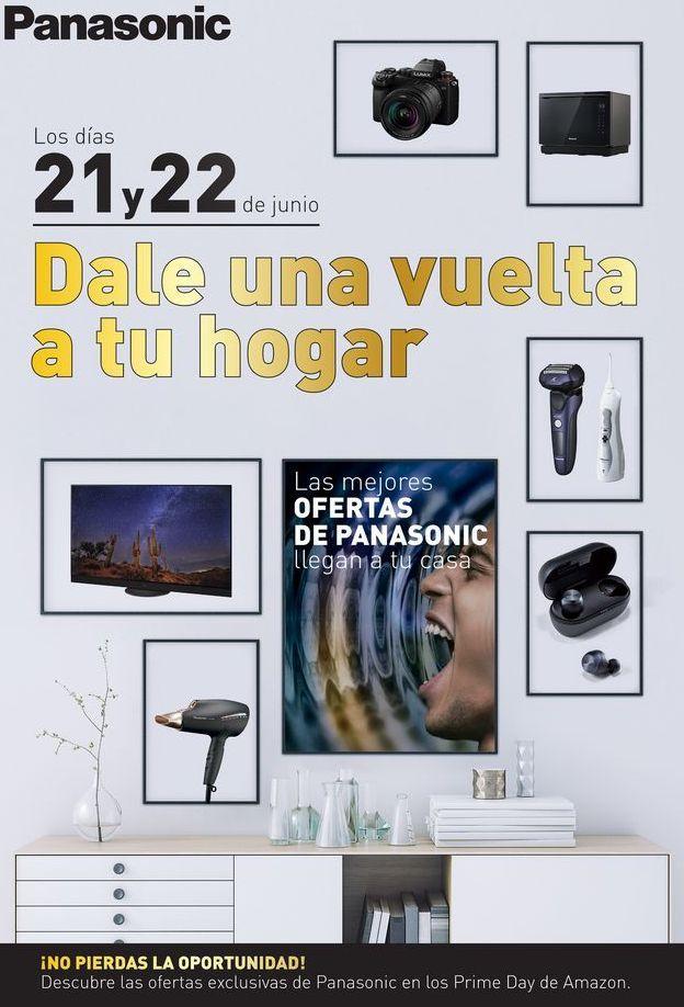Oferta de Electrodomésticos Panasonic por