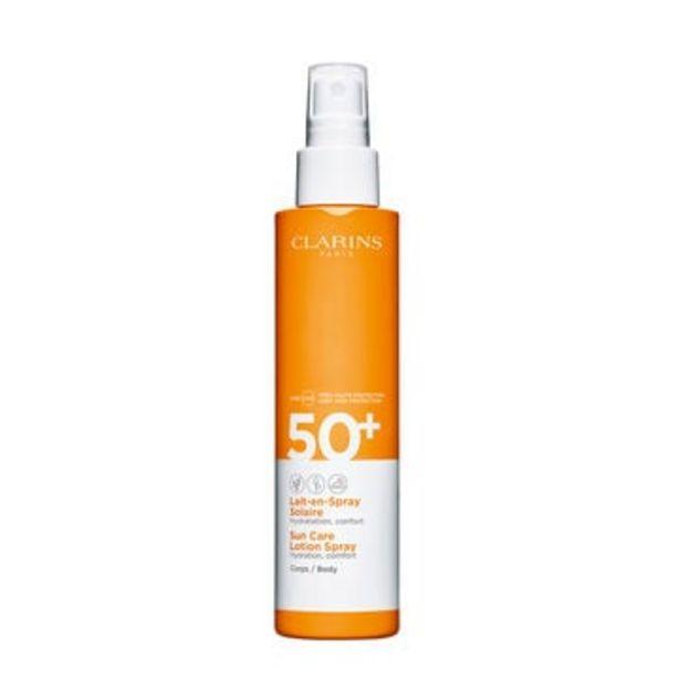 Oferta de Leche Solar Hidratante en Spray para el cuerpo UVA/UVB 50+ por 31,5€