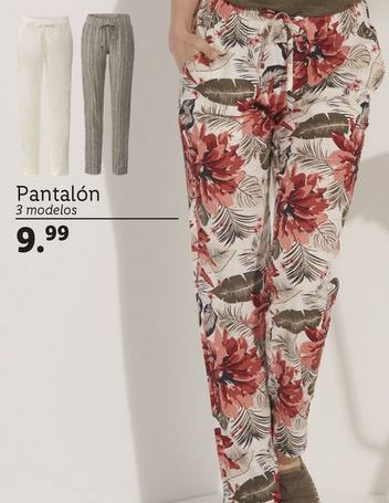 Oferta de Pantalones mujer por 9,99€
