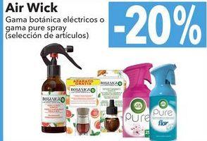 Oferta de Air Wick Gama botánica eléctricos o gama pure spray  por