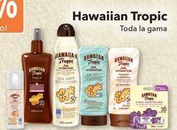 Oferta de Hawaiian Tropic Toda la gama  por