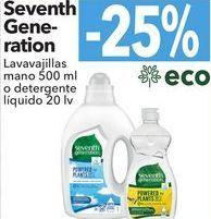 Oferta de Seventh generatio Lavavajillas mano o detergentes líquido  por