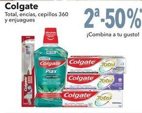 Oferta de Colgate Total, encías, cepillos 360 y enjuagues por