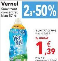 Oferta de Vernel Suavizante concentrado  por 2,79€