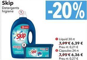 Oferta de Skip Detergente higiene  por 6,39€
