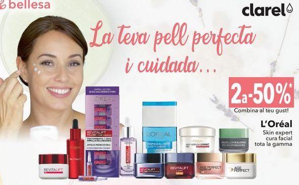 Oferta de L'Oreal Skin expert cuidado facial toda la gama  por