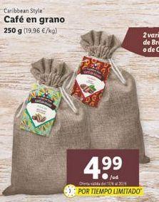 Oferta de Café por 4,99€