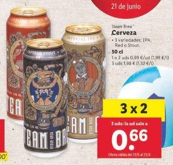 Oferta de Cerveza por 0,99€