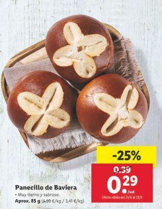 Oferta de Panecillos por 0,29€