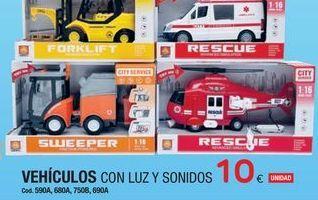 Oferta de Vehículos de juguete por 10€