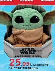 Oferta de Muñecos Star Wars por 25,95€