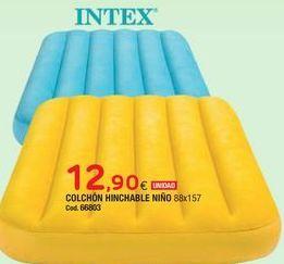 Oferta de Colchón hinchable Intex por 12,9€