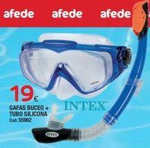 Oferta de Gafas de buceo Intex por 19€