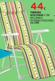 Oferta de Tumbonas por 44€