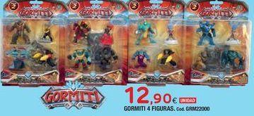 Oferta de Figuras de acción Gormiti por 12,9€