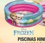 Oferta de Piscina hinchable Frozen por 13,5€