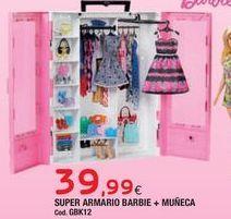 Oferta de Accesorios para muñecas Barbie por 39,99€