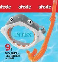 Oferta de Gafas de buceo Intex por 9€