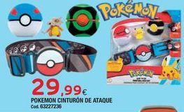 Oferta de Juguetes Pokemon por 29,99€