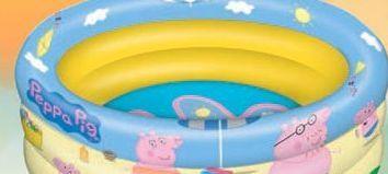 Oferta de Piscina hinchable Peppa pig por 13,5€