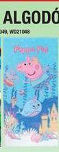 Oferta de Toallas de algodón Peppa pig por 10€