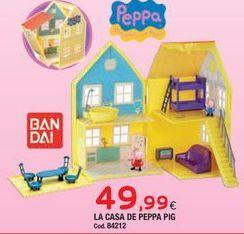 Oferta de Casa de juguete Peppa pig por 49,99€