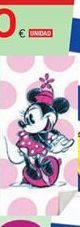 Oferta de Toallas de algodón Minnie por 10€