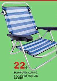 Oferta de Silla de playa por 22€