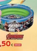 Oferta de Piscina hinchable Avengers por 13,5€
