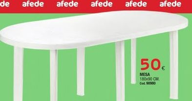 Oferta de Mesa por 50€