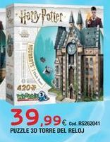 Oferta de Puzzles Harry Potter por 39,99€