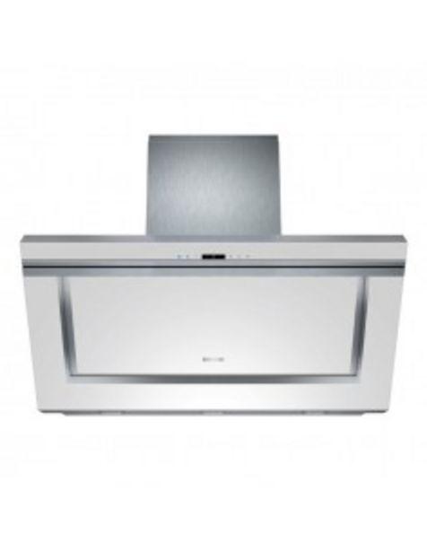 Oferta de Campana Siemens Lc91kb272  Pared Inclinada Cristal Blanca (diseÑo Iq700) A 90cms 800... por 965,38€