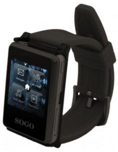 Oferta de Reloj Sogo Telssn1 Smart Watch Sincronizacion Por Bluetooth  Con Smartphone Email... por 81€