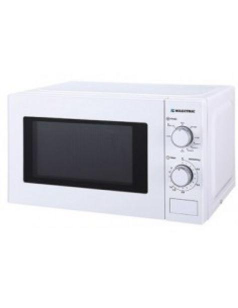 Oferta de Microondas Milectric Miwg20ltb Blanco Grill 700w 9 Programas 5 Niveles 20 L por 54€
