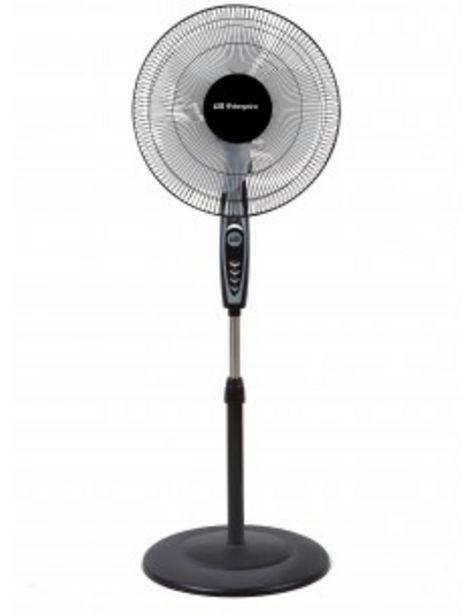 Oferta de Ventilador Orbegozo Sf0148 De Pie 50w 40cms Negro Inox 16707 por 26€