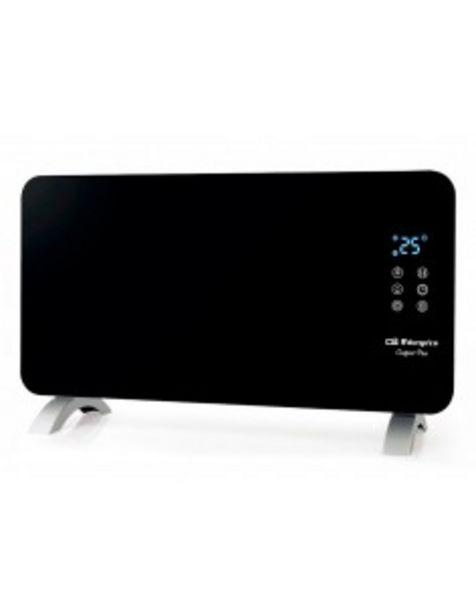 Oferta de Panel Radiante Orbegozo Reh1060 Negro Display Led 1000w 380x600x70mm 17345 por 46€