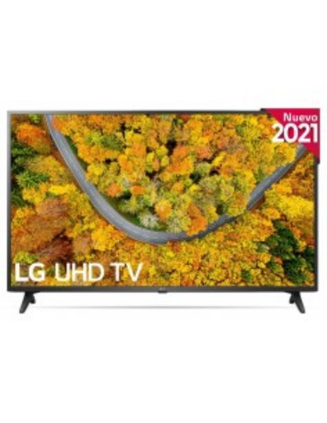 "Oferta de Tv Led Lg 50up75006lf 50""inch"" 125,8 Cms Uhd 4k Hdr10 Smart Tv Webos 6.0 Wifi 60 Hz Pmi... por 472€"