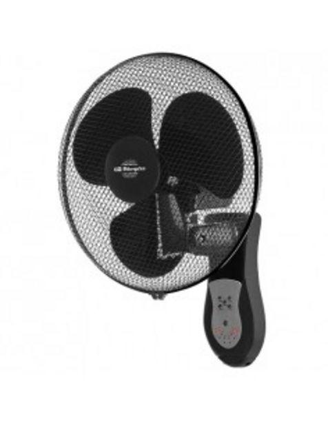 Oferta de Ventilador Orbegozo Wf0243 Pared 40cm Con Mando por 37€