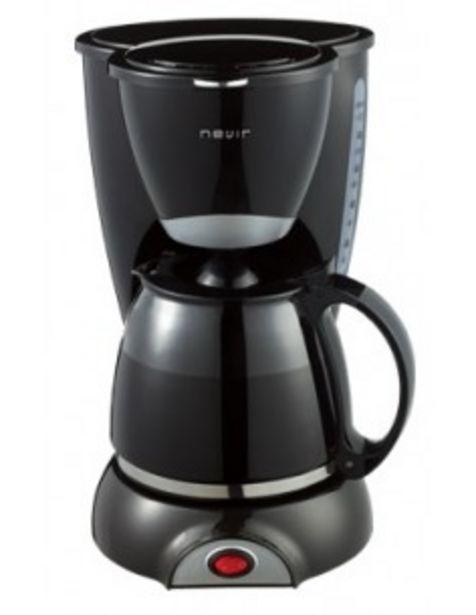 Oferta de Cafetera Nevir Nvr1132cm 12tazas 800w Negra por 15€