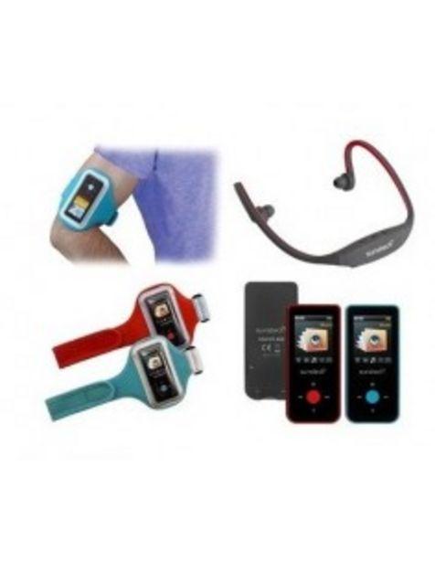 """Oferta de Mp4 Sunstech Celeste 4gbrd Bluetooth® (v2.1) 4gb. Pantalla Tft Color 1,8"""" - 4,57 Cm.... por 44€"""