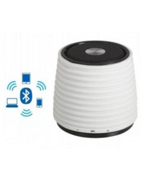 Oferta de Altavoz Audiosonic Sk1525 Altavoz Bluetooth Blanco Portatil Bateria Ion Recargable... por 23€