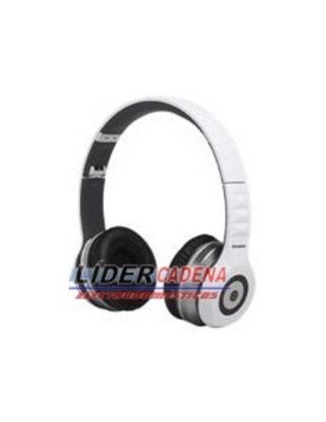 Oferta de Auriculares Audiosonic Hp1645 Auricular Bluetooth Blanco Alcance 10m Plegable Puede... por 17€