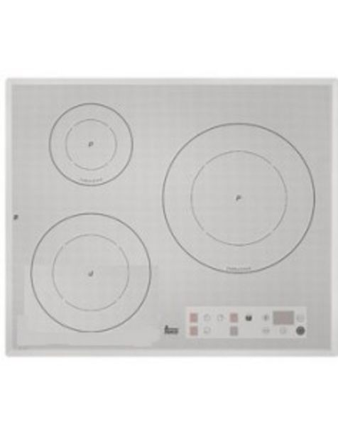 Oferta de Placa Teka Iq640  3 Fuegos Induccion Cristal Color Inox  Metalizado  Touch  Control Sensor por 535,62€