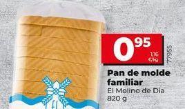 Oferta de Pan de molde El Molino  por 0,95€