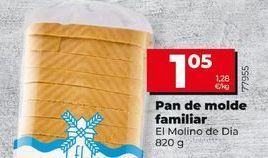 Oferta de Pan de molde El Molino  por 1,05€
