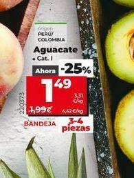 Oferta de Aguacates por 1,49€